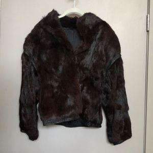 Vintage fur jacket - AS IS